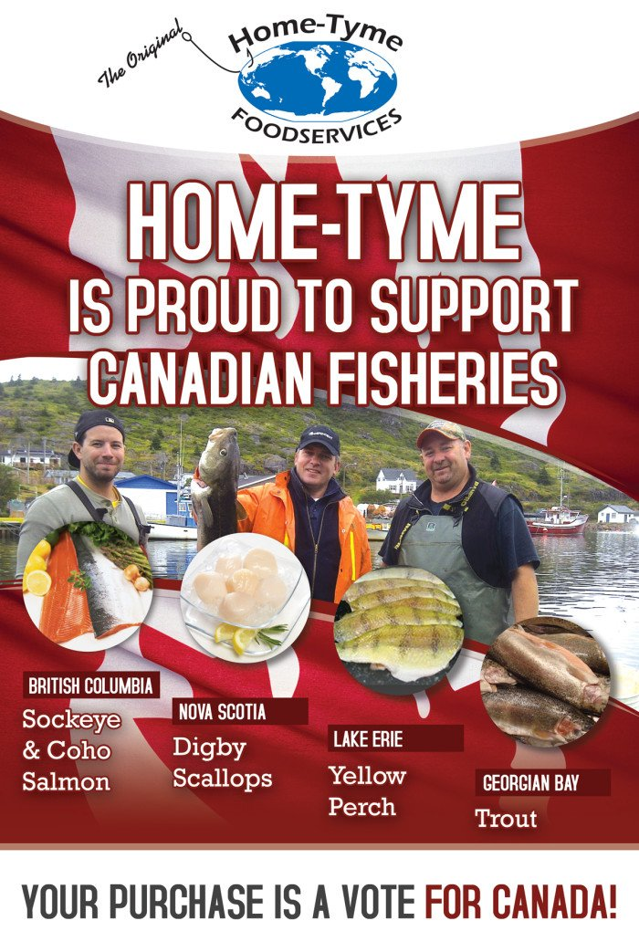 Shop fish at Home-Tyme Food Services