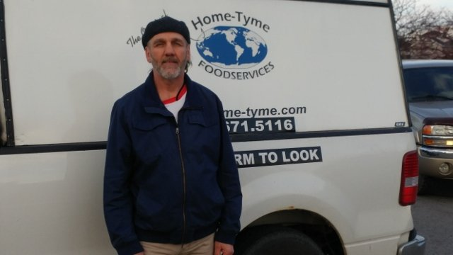 Home-Tyme Foodservice Delivery Driver | Norm Randall