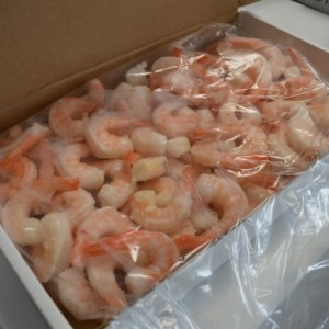 Delivery Company - Cooked Shrimp