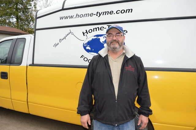 Home-Tyme Foodservice Delivery Driver | Ed Morrison