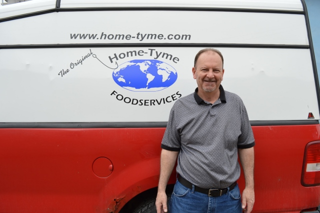 Home-Tyme Foodservice Delivery Driver | Ed Rosloski