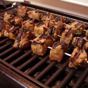 Pork Souvlaki Preparied