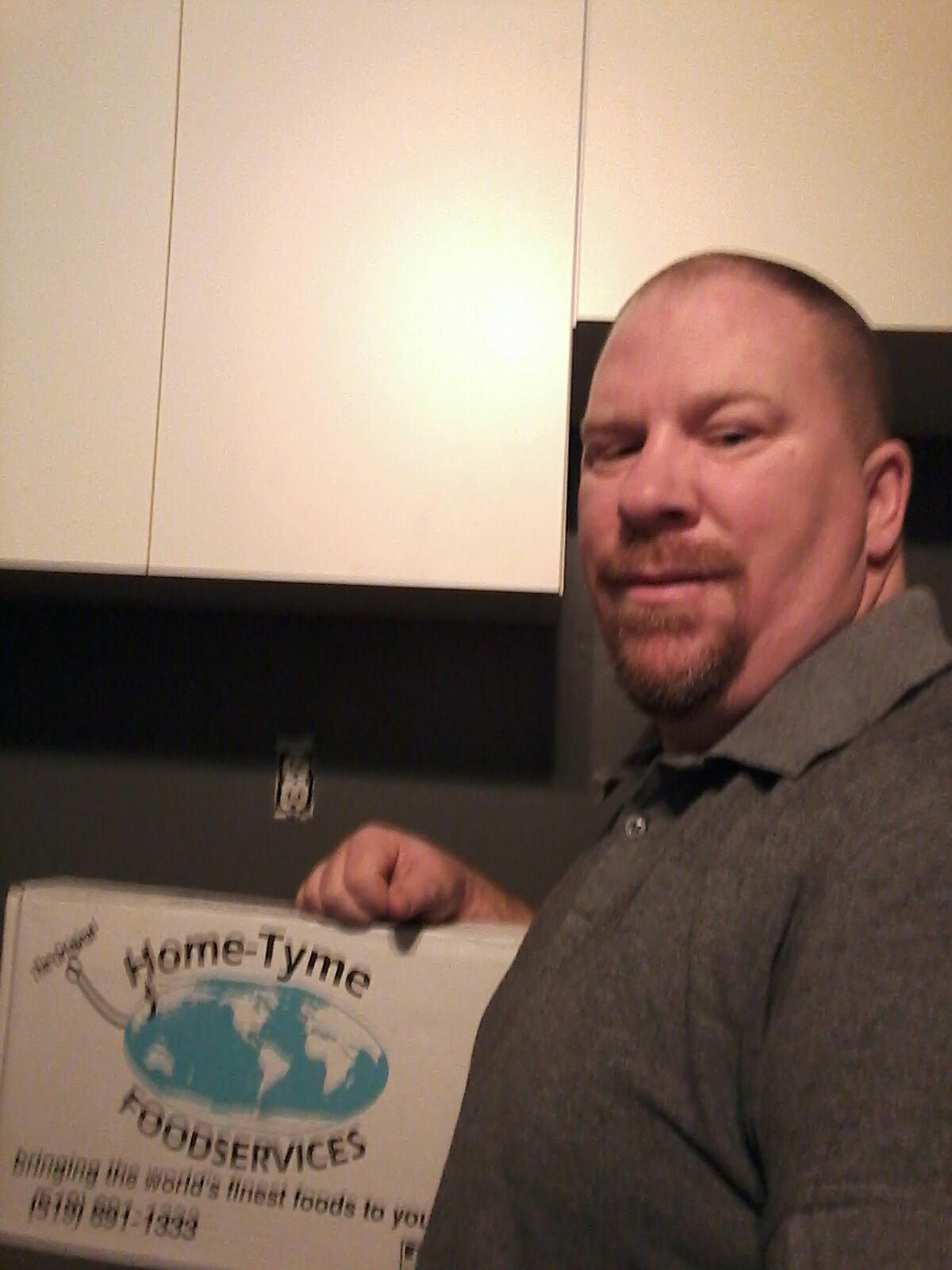Home-Tyme Foodservice Delivery Driver | Todd Thibert