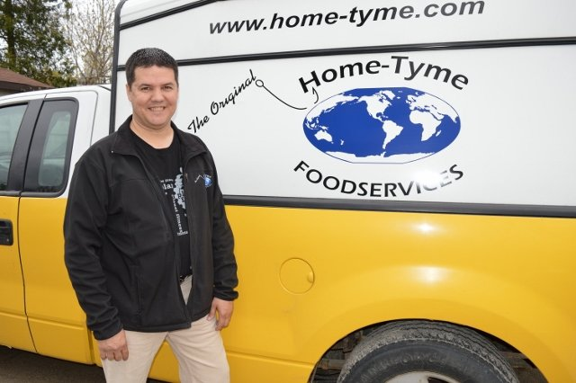 Home-Tyme Foodservice Delivery Driver | Dean Miron